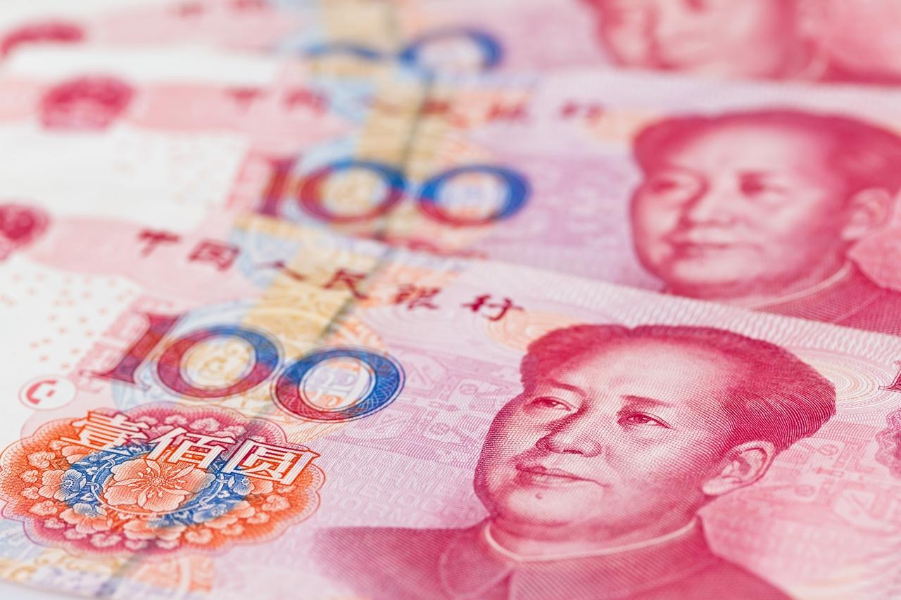 人民幣狂飆358基點 新台幣升破29.6