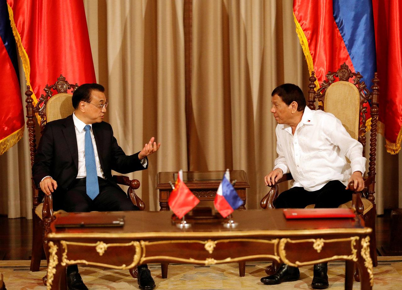 李克強訪菲律賓 送上73.4億美元