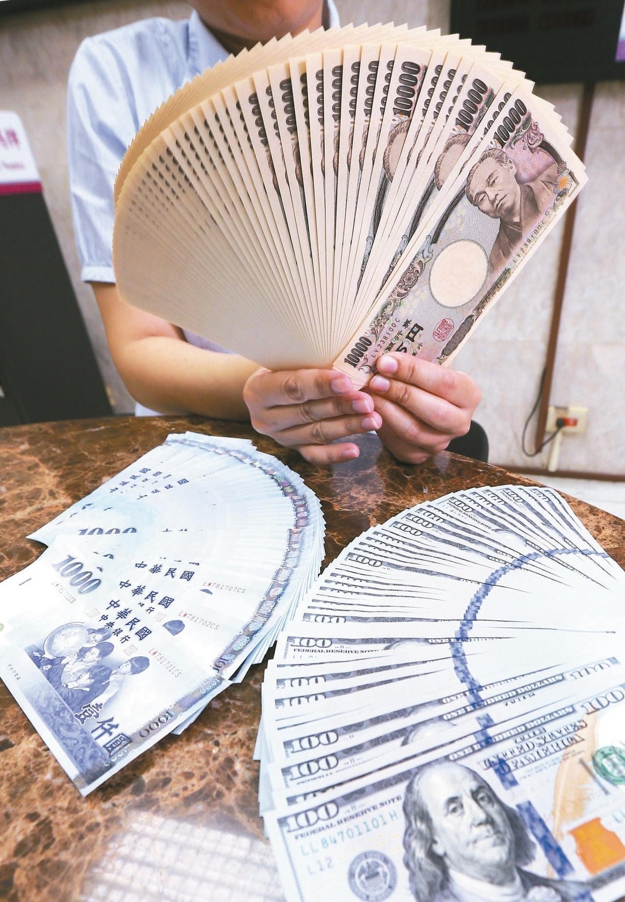 美元轉強 新台幣午盤收最低貶9.2分
