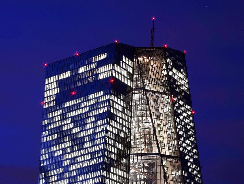 ECB維持現行政策不變 歐元匯率持穩