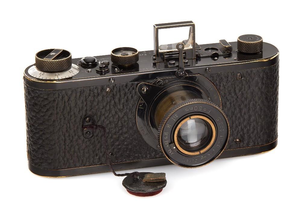 1923年徠卡原型相機 240萬歐元天價落槌