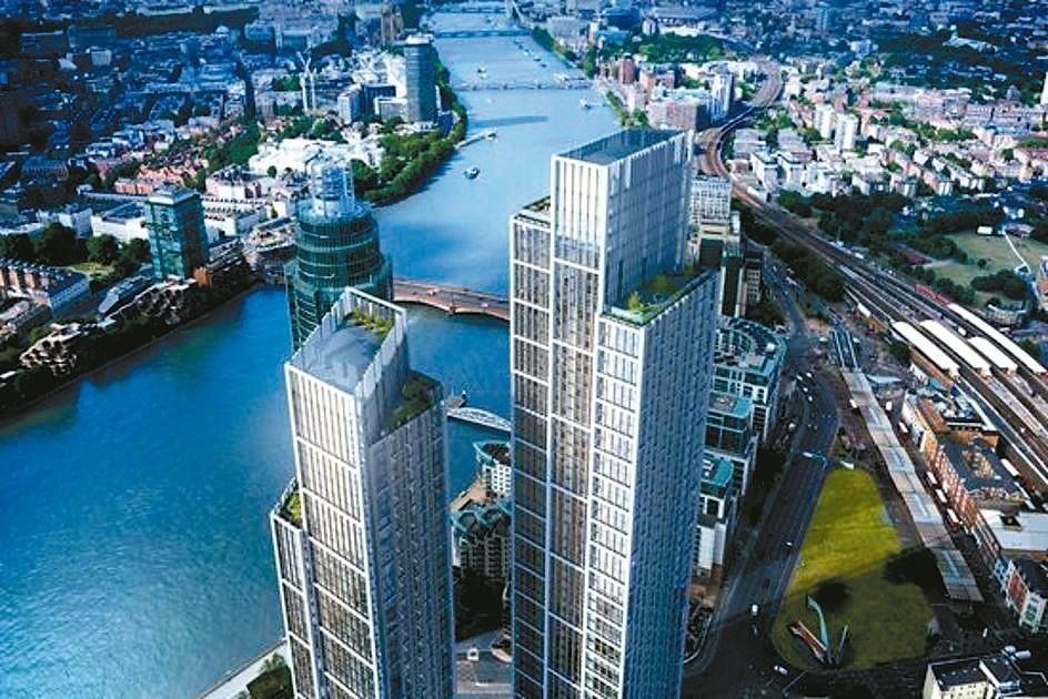 中國去年投資海外房地產達2500億人民幣,逾半在歐洲