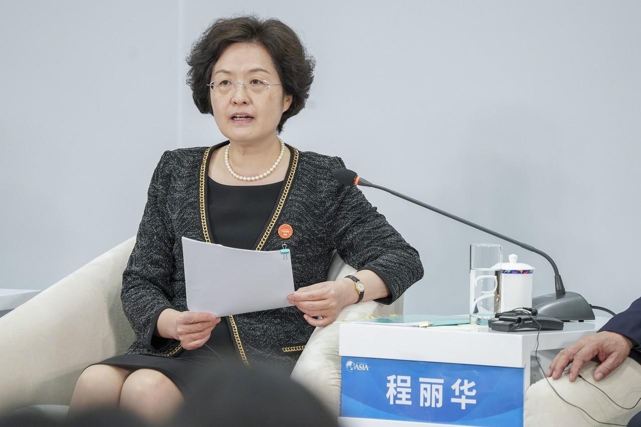 陸財政部副部長程麗華:今年降稅1兆元人民幣