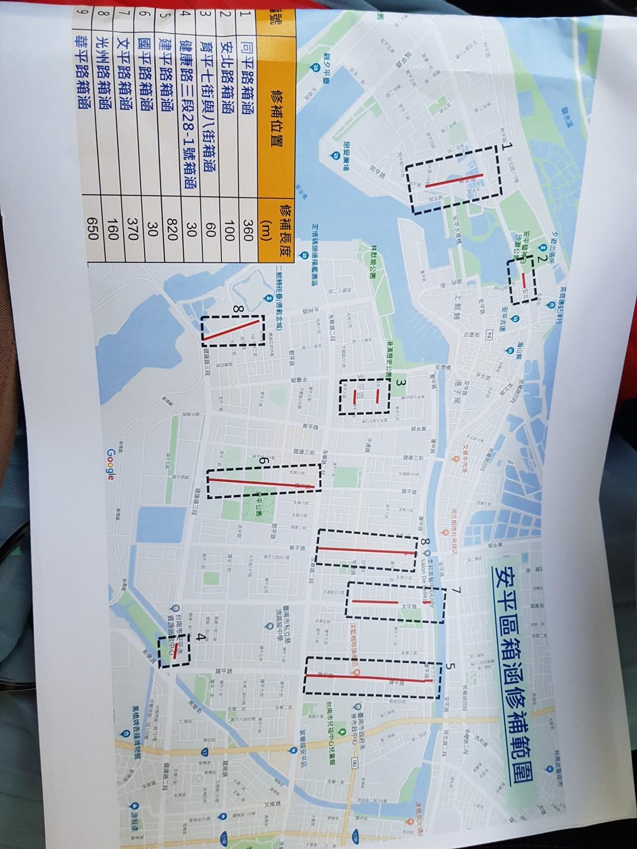 台南人注意!這幾條路不要走 小心掉下去 - 台南即時新聞