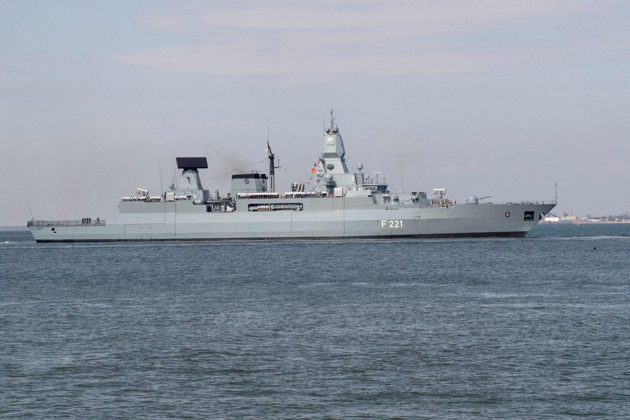 [新聞] 打破非軍事對抗 德國擬派軍艦穿越台灣海