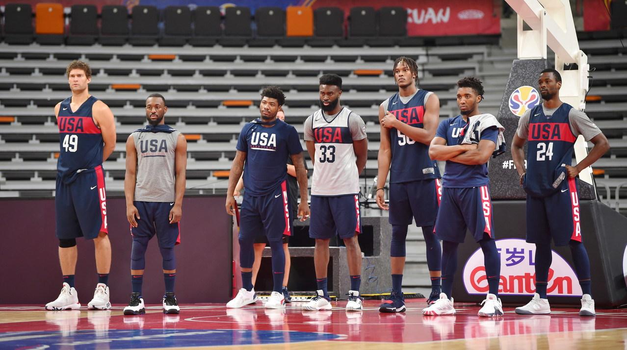 美国男篮兵败世界杯 篮协主席:没伤病就能夺冠