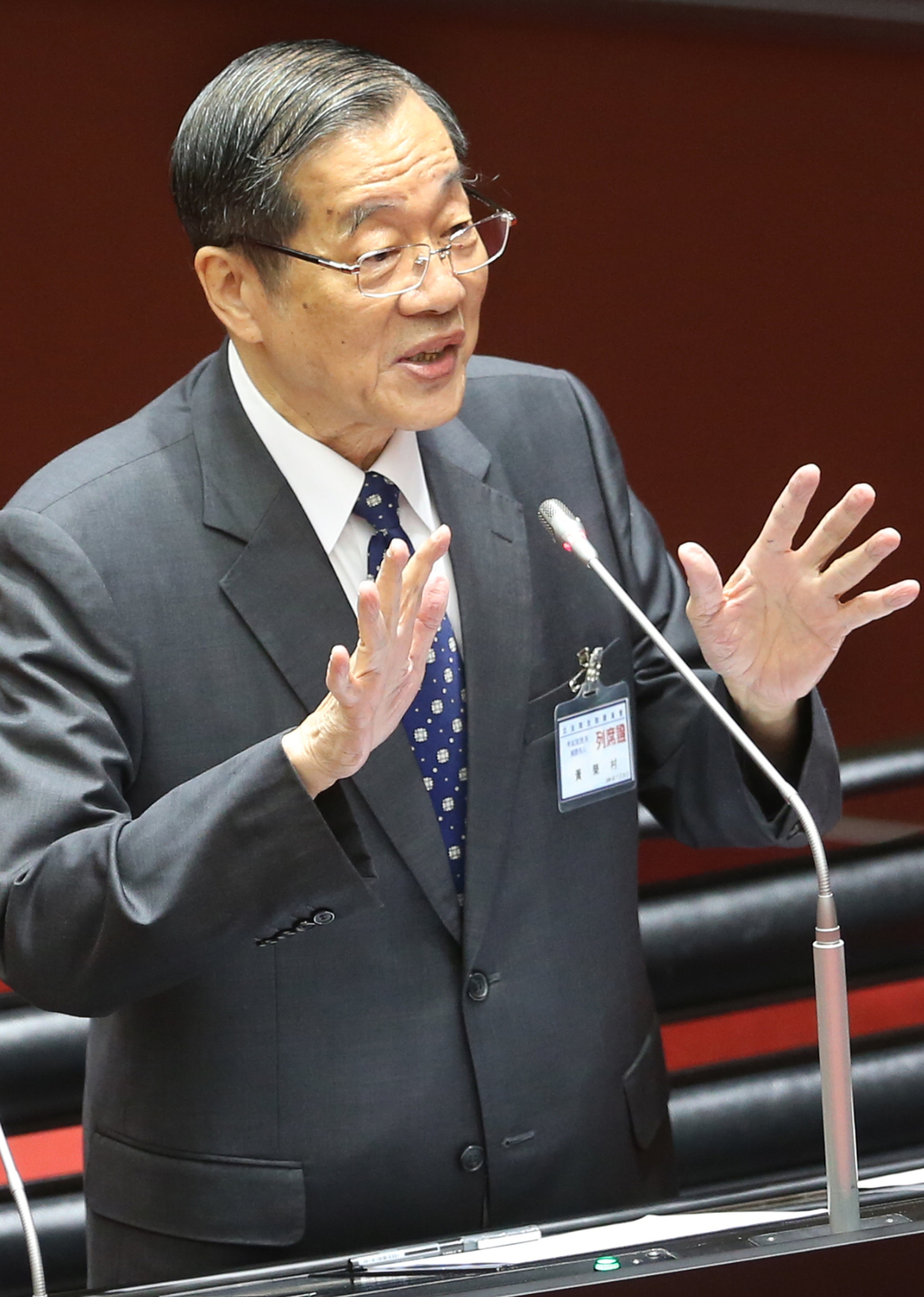 黃榮村:擴大三級機關政務任用不妥