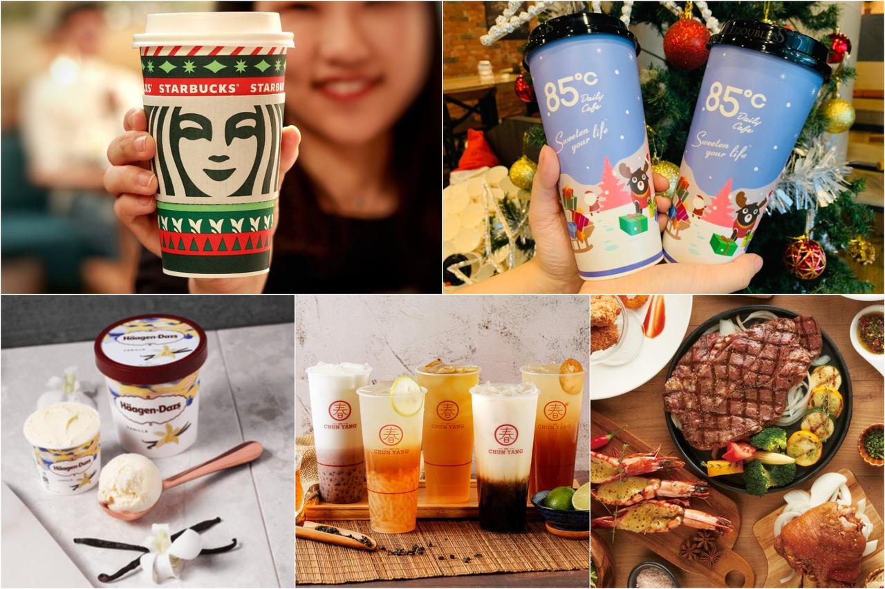 [新聞] 聖誕跨年吃喝優惠!13家「咖啡手搖+美食