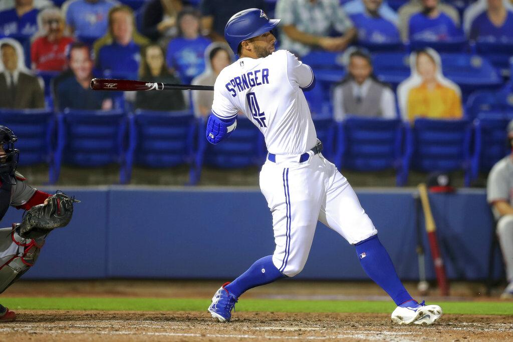 [新聞] MLB/穿藍鳥球衣初登場 史布林格4打數盡墨