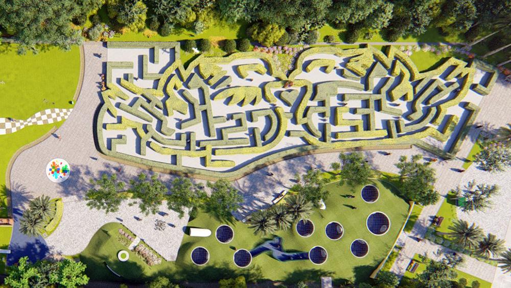 高雄人免費入園!高雄澄清湖「迷宮花園」,親子旅遊新亮點 | 橘世代