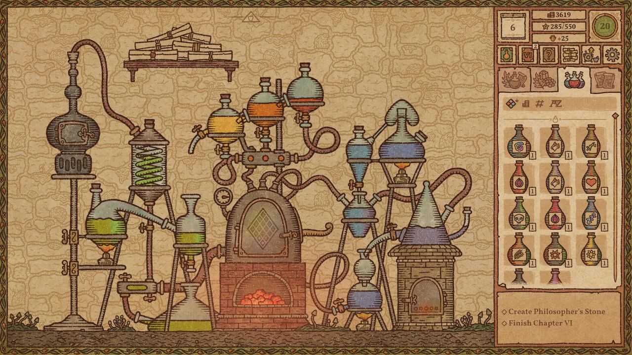 Fw: [閒聊] Steam極度好評《煉金術士模擬器》