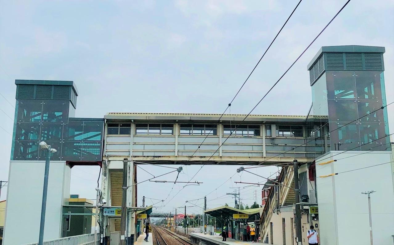 [新聞] 台鐵永靖站全新無障礙電梯 今天正式啟用