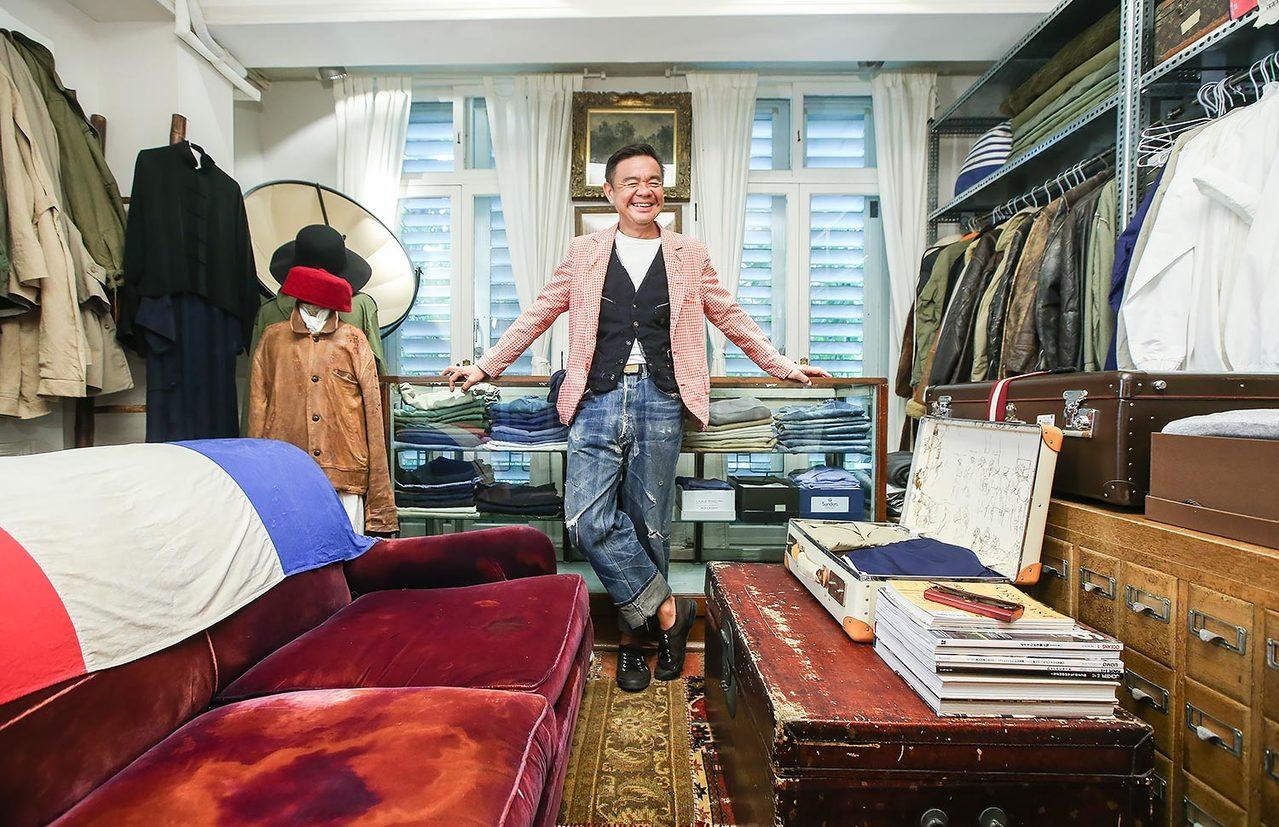室內設計師葉裕清每天都在過暑假。記者楊萬雲/攝影