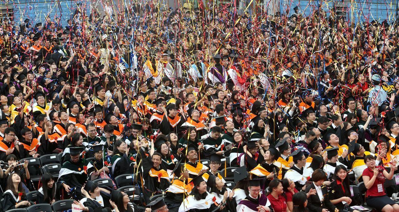 畢業快樂,歡迎面對人生!