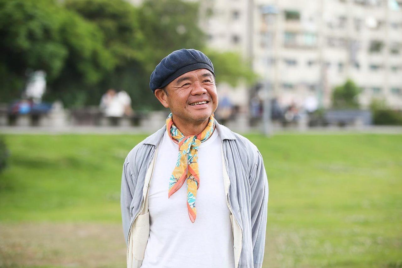 葉裕清享受不要錢的快樂。記者楊萬雲/攝影