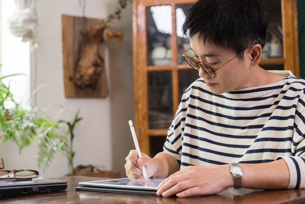 米力從插畫家變成DIY和生活雜貨專家。記者陳立凱/攝影