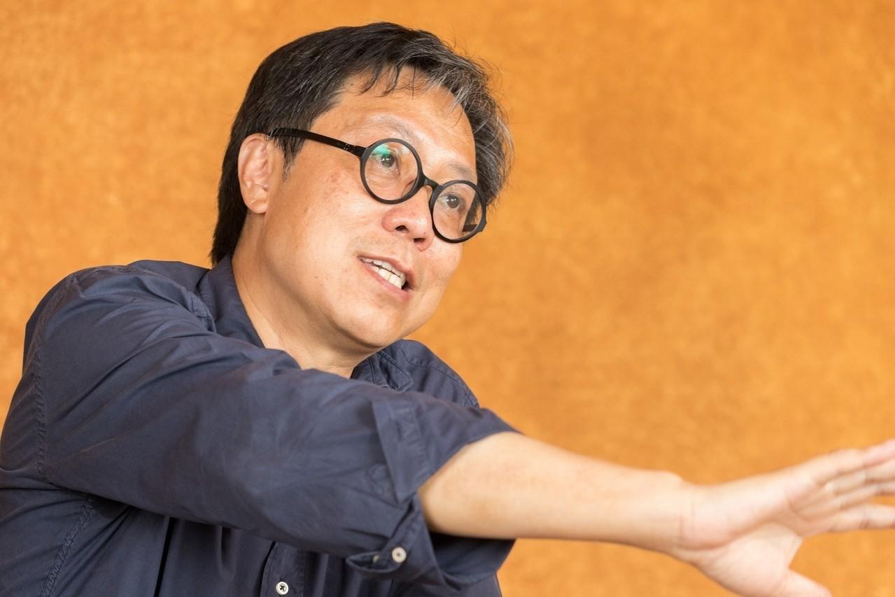 江文淵的建築哲學源於東方。記者陳立凱/攝影