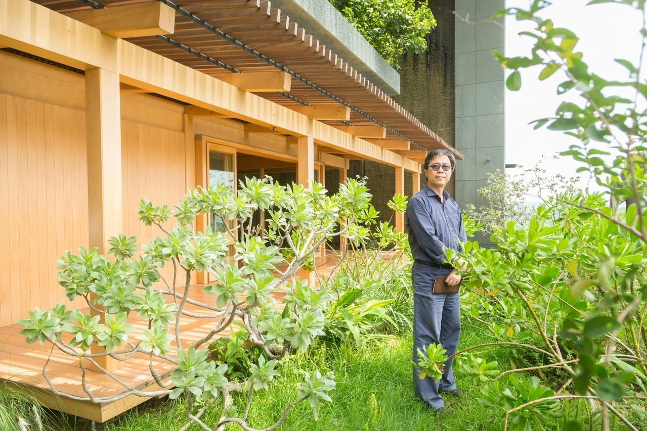 都市的解決方案,是把自然帶回都市。記者陳立凱/攝影