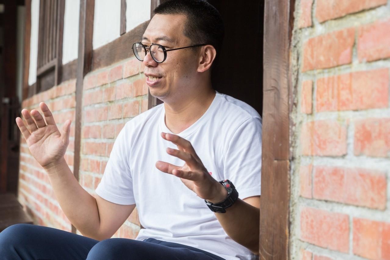 何培鈞相信很多事情不是有機會才努力,而是努力到有機會為止。記者陳立凱/攝影