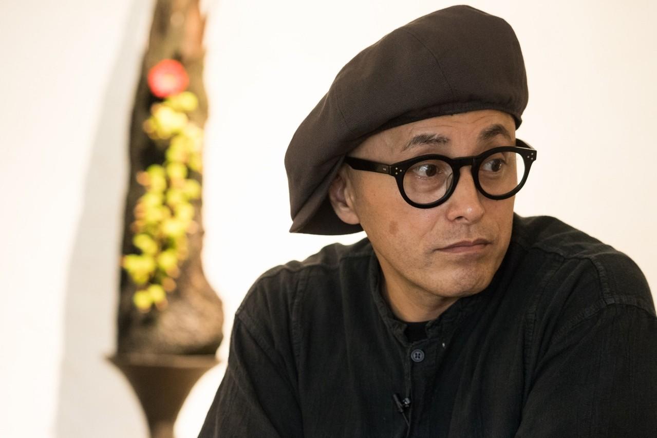 回顧過去30多年插花生涯,上野雄次內心充滿感恩。