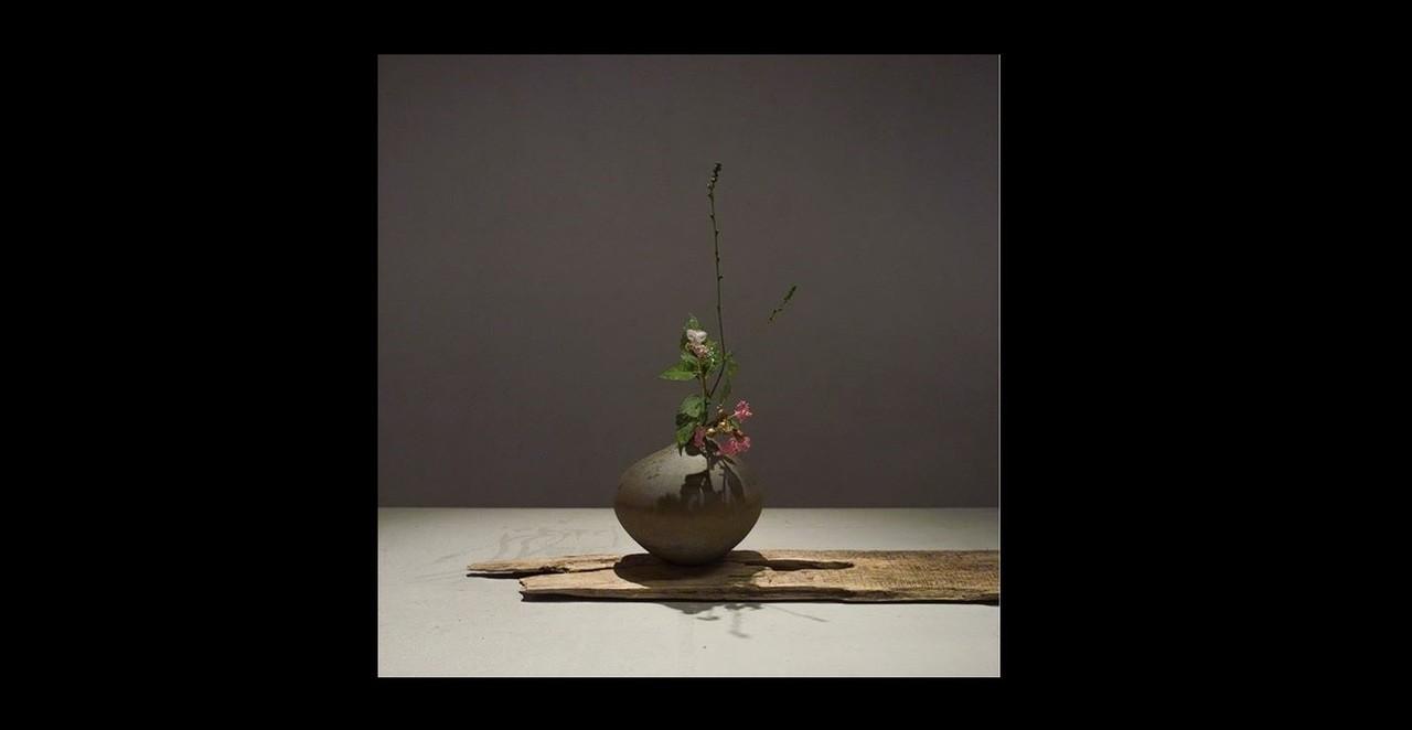 上野雄次透過花道,表現生存帶來的美感。摘自<a href='https://www.instagram.com/ug_ueno/' target=