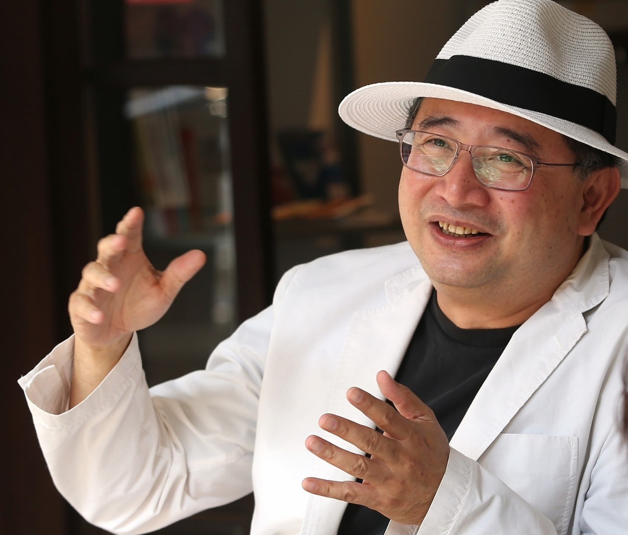李清志喜歡台北,也常出國探索。記者林澔一/攝影