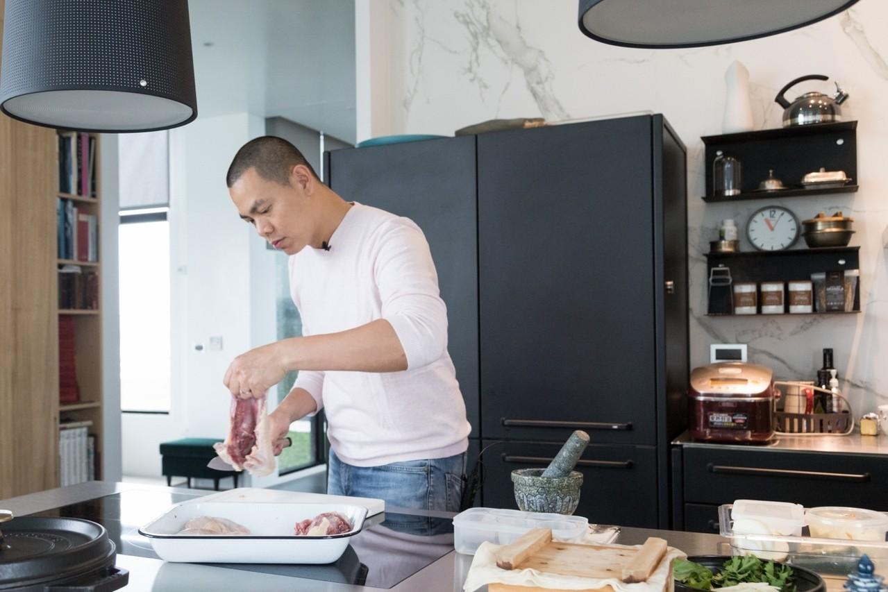 江振誠有信心下一波料理浪潮是中菜。記者陳立凱/攝影