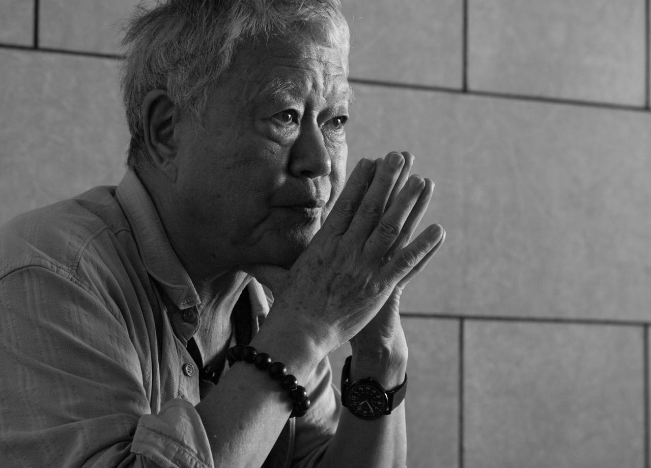 邁入70的畫家,從心所欲。圖/陳立凱攝影