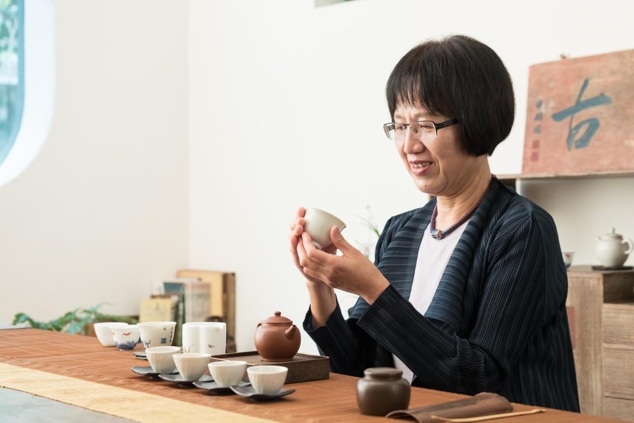 茶與器都非常重要。記者陳立凱/攝影