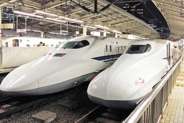日本新幹線。聯合報系資料照
