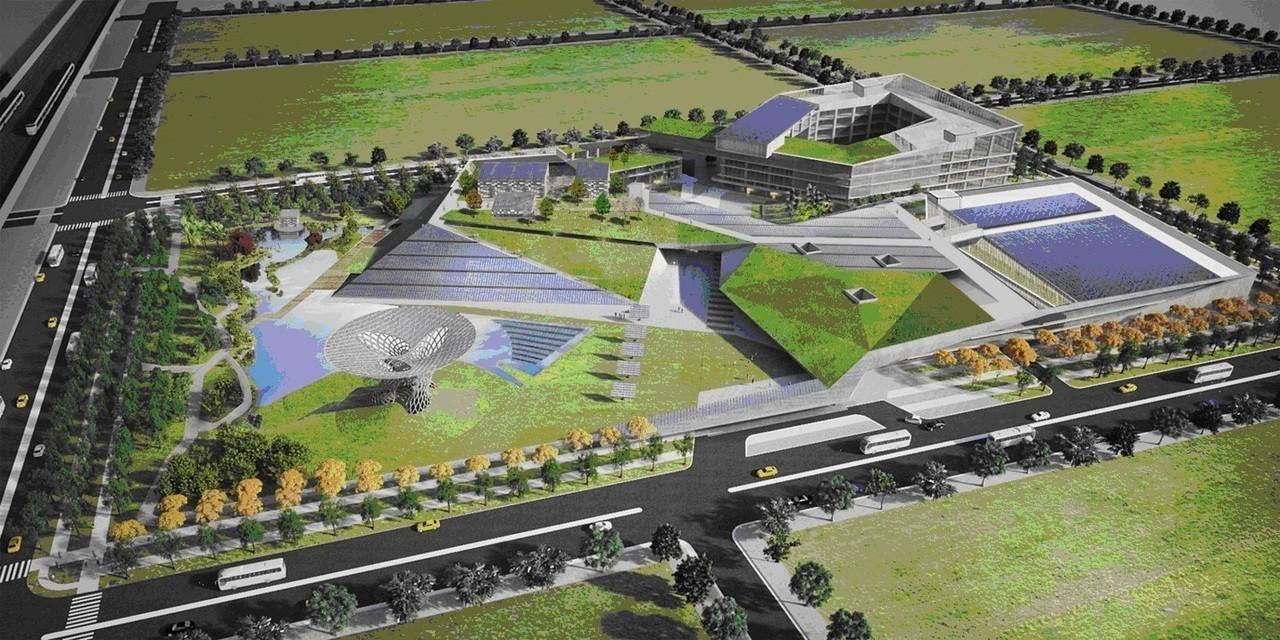 沙崙智慧科學城示範場域。工研院/提供