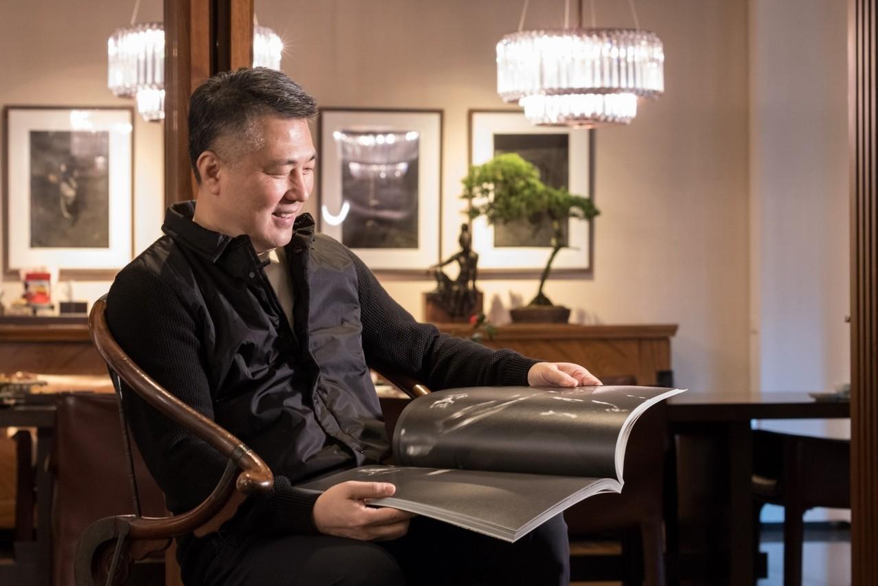 陳仁毅投入中國藝術已30年。記者陳立凱/攝影