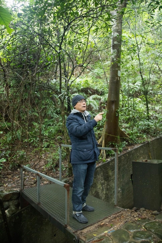 展望喜歡台灣的靜和慢。記者陳立凱/攝影