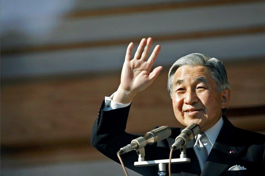 日皇明仁(圖)將退位,皇太子德仁5月1日即位為新日皇。圖/路透社