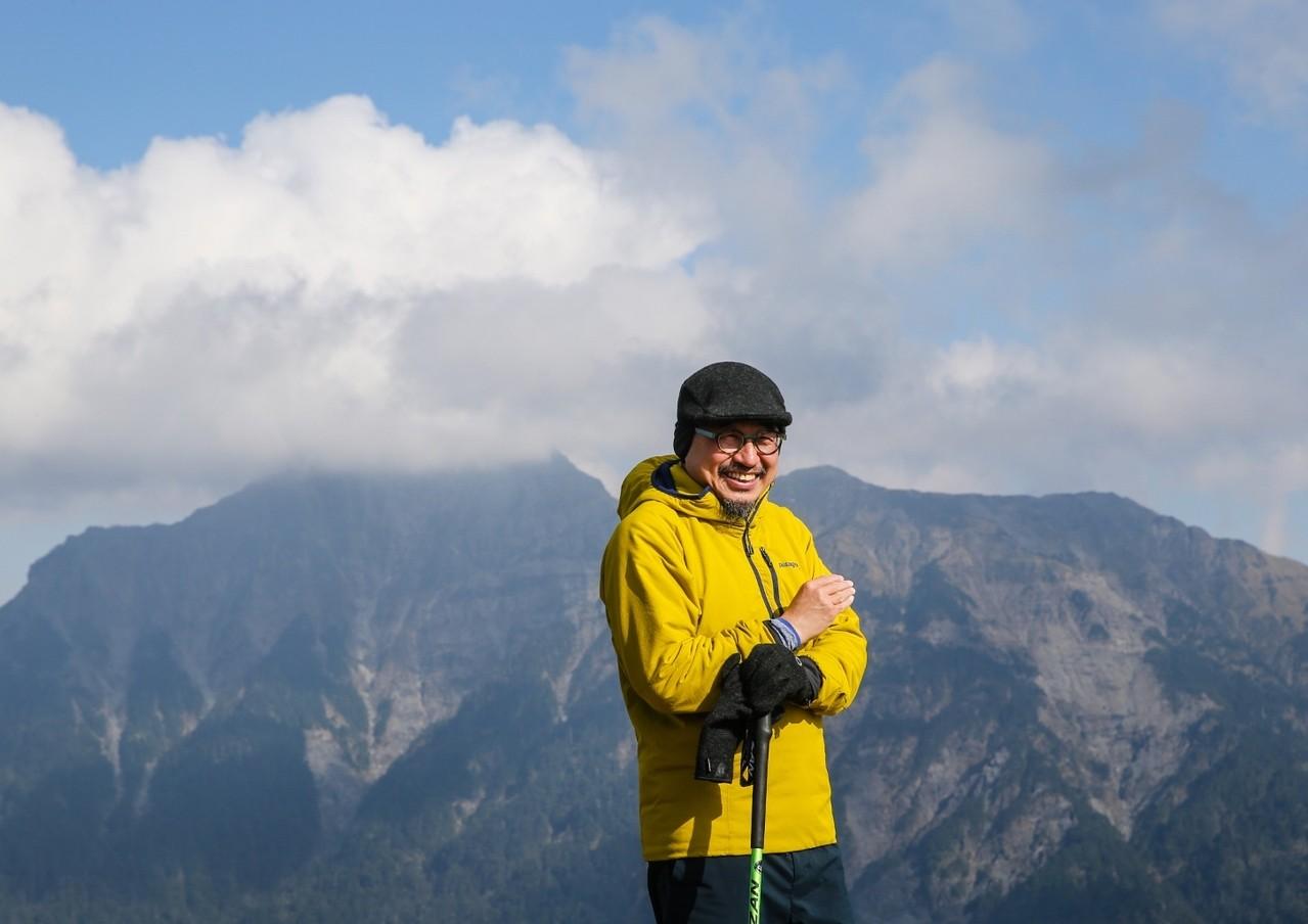 詹偉雄對攀登高山情有獨鍾,許多路線一爬再爬仍樂此不疲。記者王騰毅/攝影