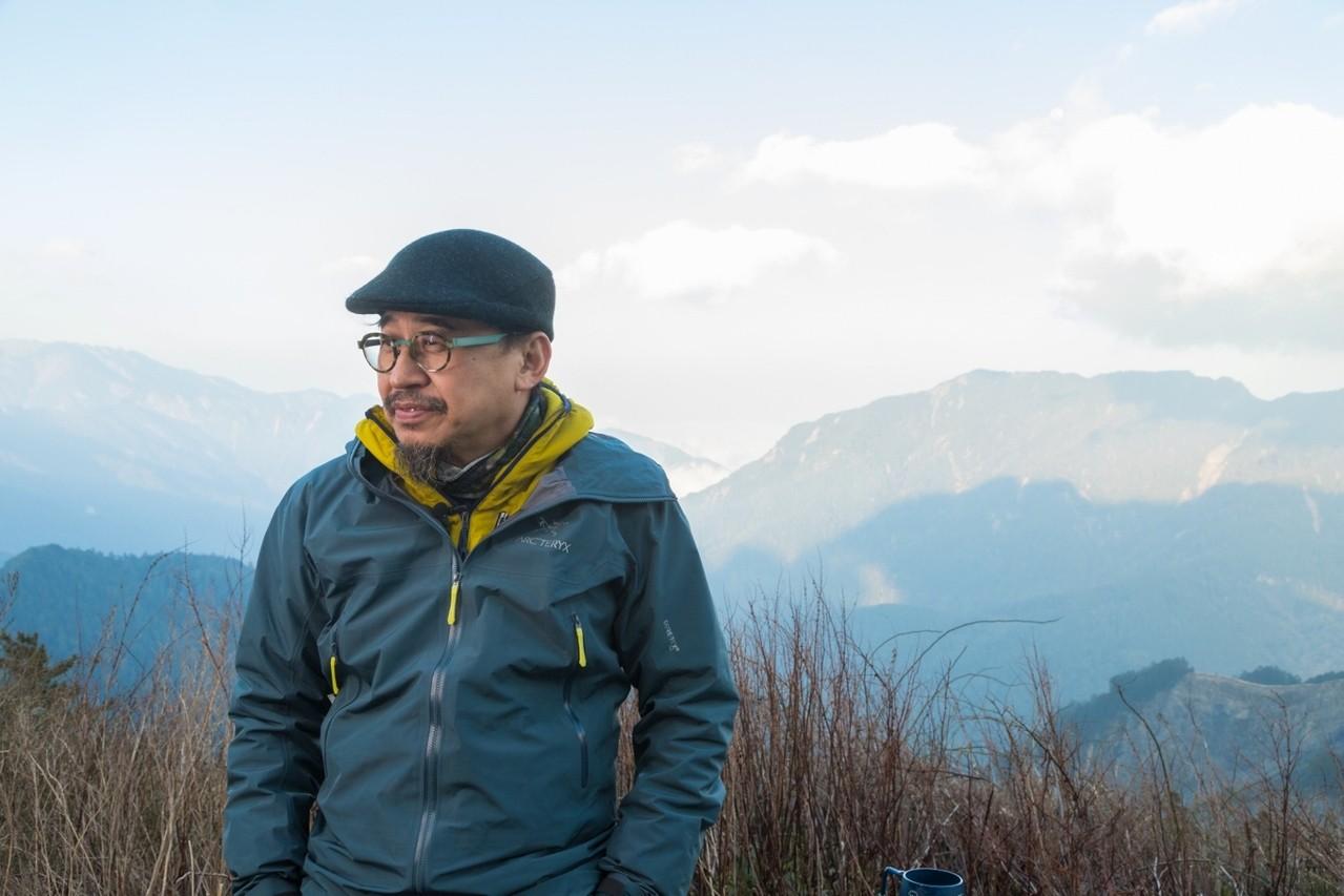 詹偉雄對攀登高山情有獨鍾,許多路線一爬再爬仍樂此不疲。記者陳立凱/攝影