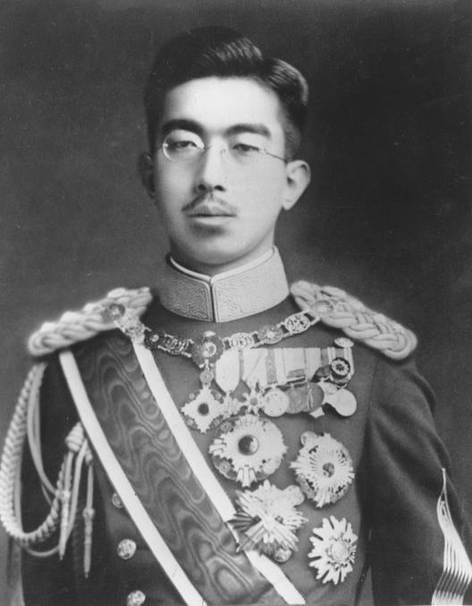日皇明仁的父親──昭和天皇1949年檔案照。美聯社