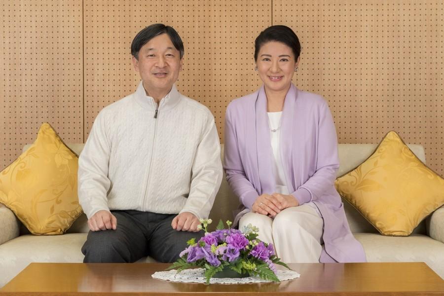日本皇太子德仁與雅子妃。圖/美聯社。