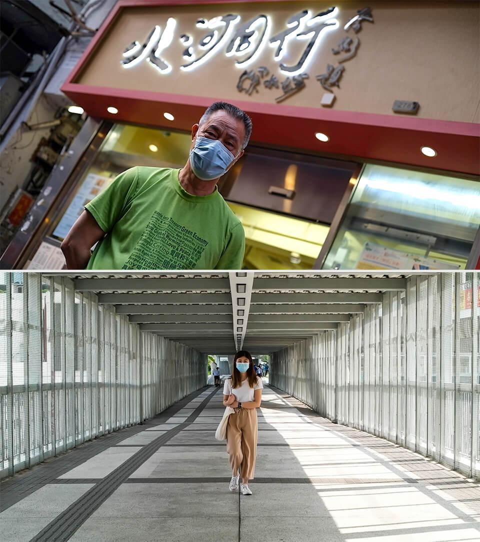 香港人對反送中有不同的感受。但他們都覺得香港撕裂和對立越來越嚴重。本報資料照片