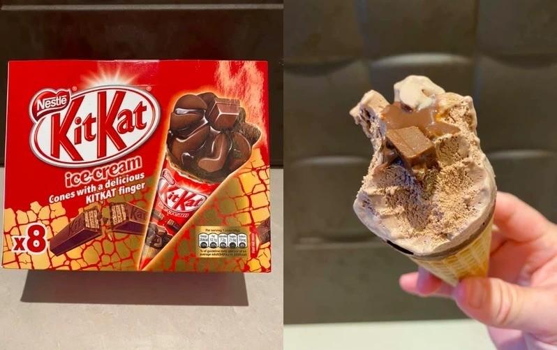 好市多「KitKat巧克力炫風甜筒」。 圖/Costco好市多 商品經驗老實說