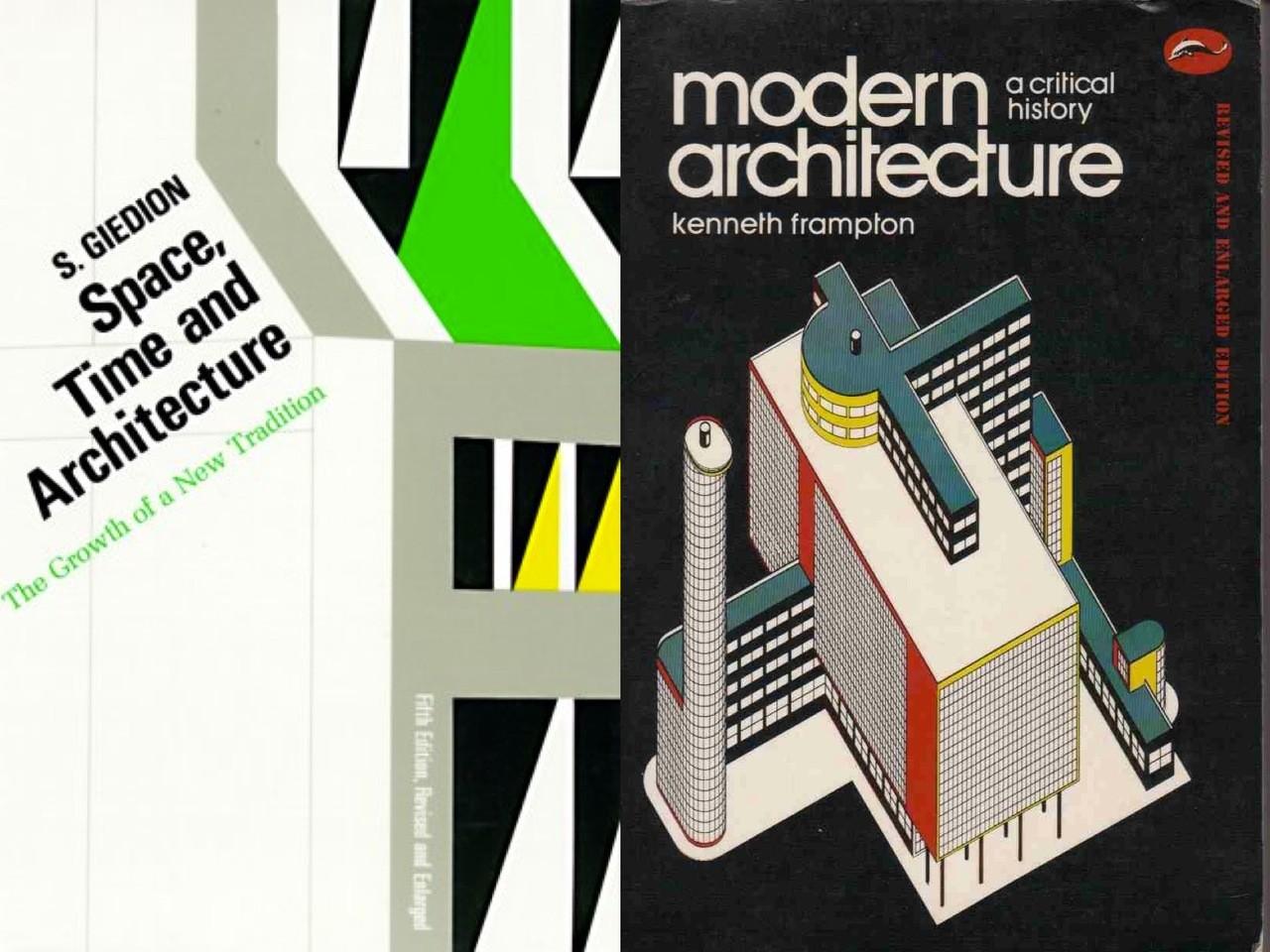 1986到馬祖當兵帶的兩本書《空間。時間與建築》與《現代建築史》。圖/龔書章提供