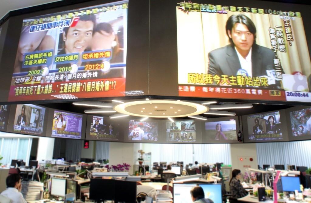 旅美投手王建民2012年驚爆婚外情,各大媒體大肆報導。聯合報系資料照