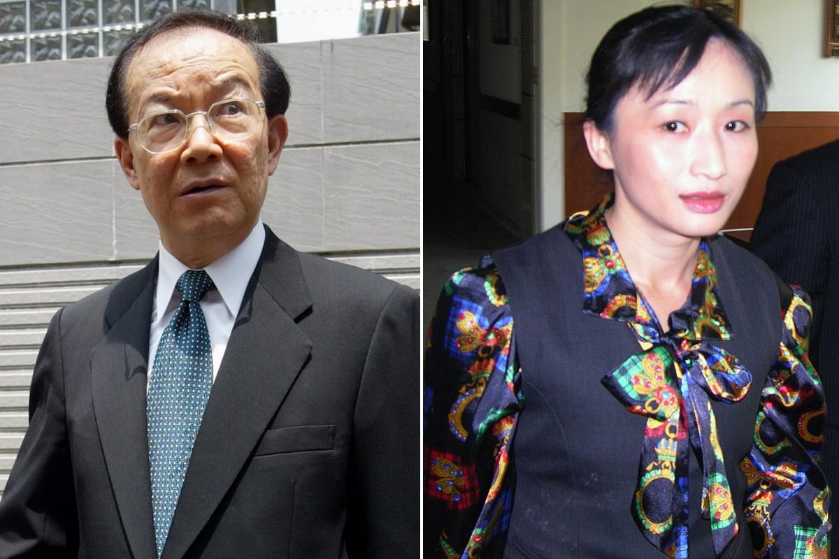 2006年司法院副院長城仲模與雲科大助理教授王美心傳不倫戀。聯合報系資料照