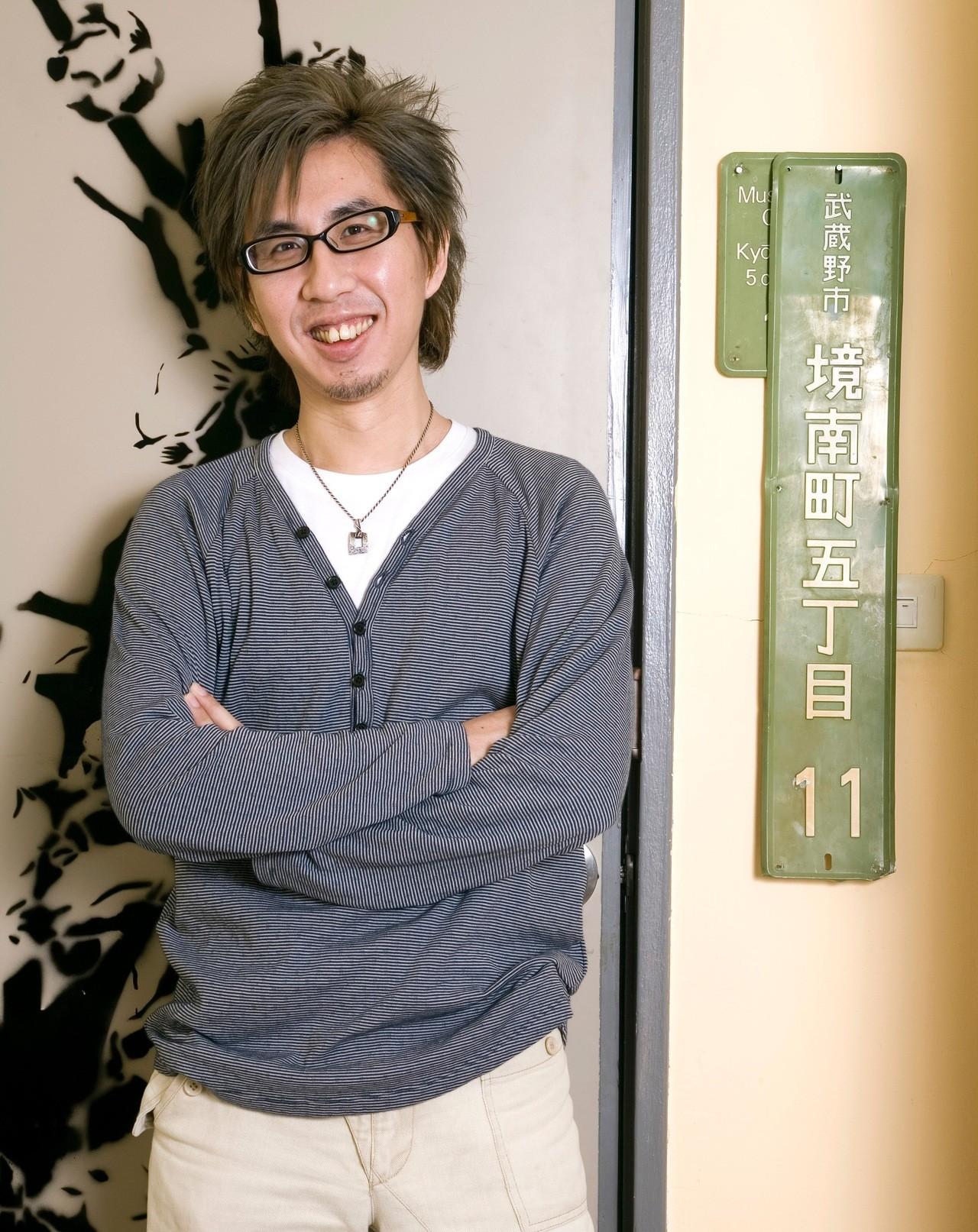 李明璁2006年回台任教初期。圖/李明璁提供