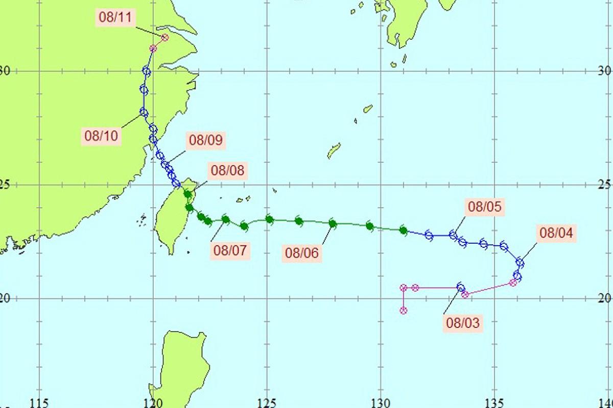 莫拉克颱風。圖/全球災害事件簿