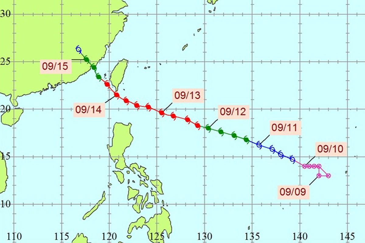 莫蘭蒂颱風。圖/全球災害事件簿