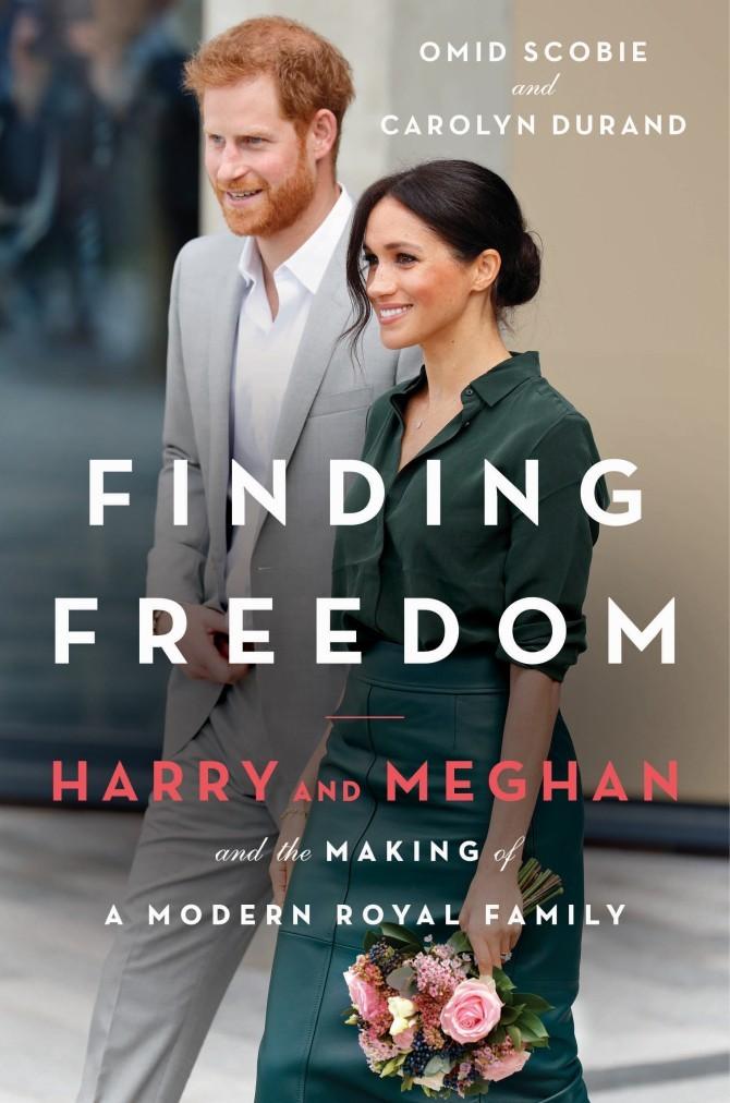 哈利與梅根出的自傳式新書。圖/摘自amazon