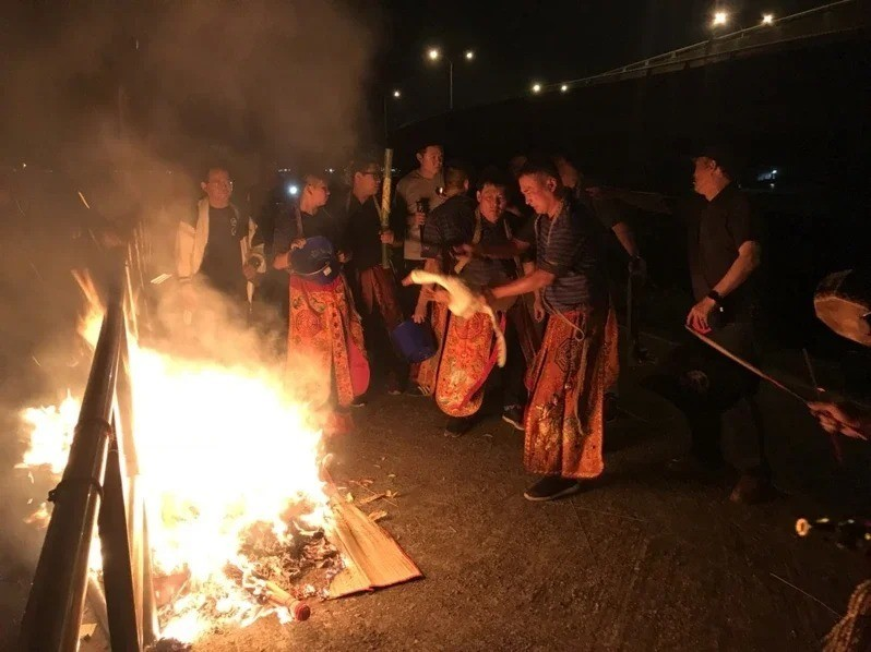 送肉粽儀式是從福建泉州傳過來的。 圖/聯合報系資料照片