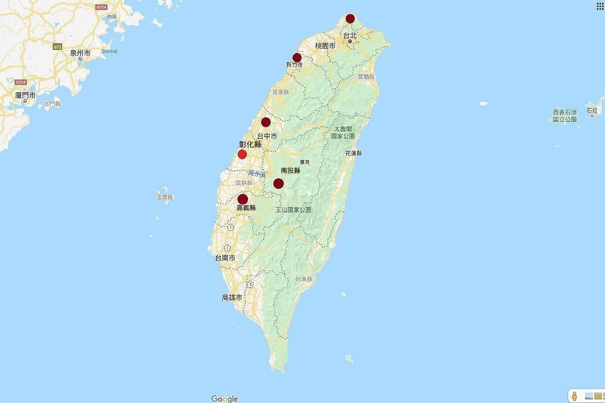 送肉粽儀式範圍逐漸擴大。圖/取自Google Maps、新聞網製圖