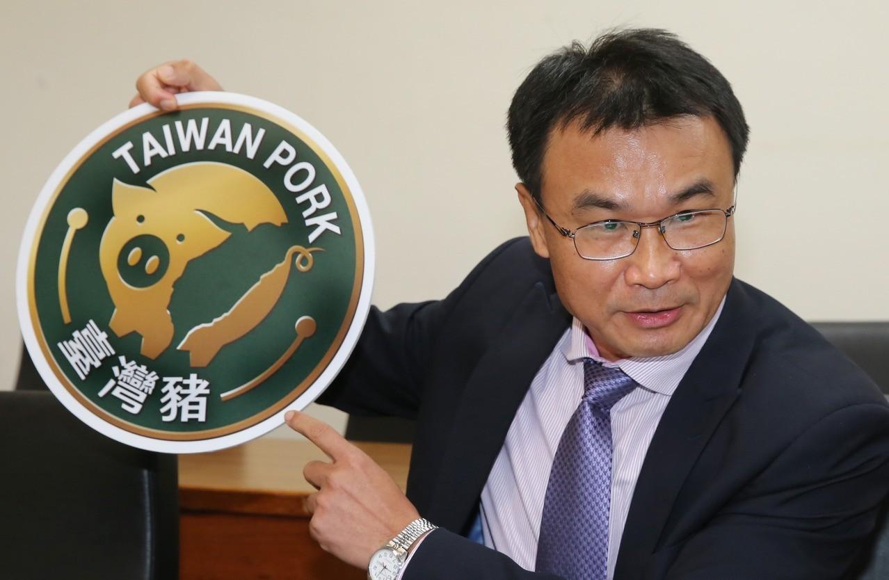 農委會將在2021年起全面推廣台灣豬標章。記者曾學仁/攝影